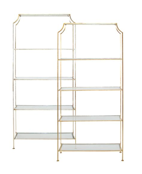 etagere 2 stöckig silber silver leaf etagere shop now regency distribution