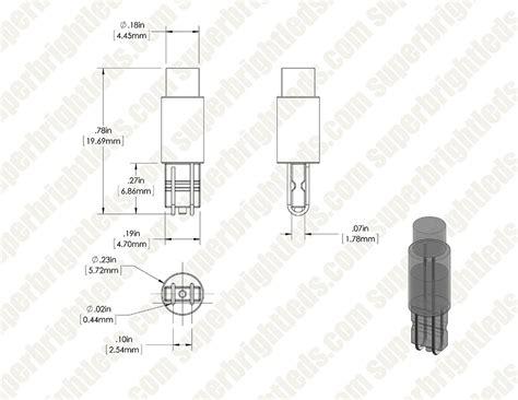 74 led light bulb 74 led bulb 1 led miniature wedge retrofit courtesy