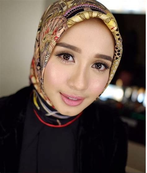 tutorial hijab seperti laudya chintya bella inspirasi hijab simpel laudya cynthia bella dream co id