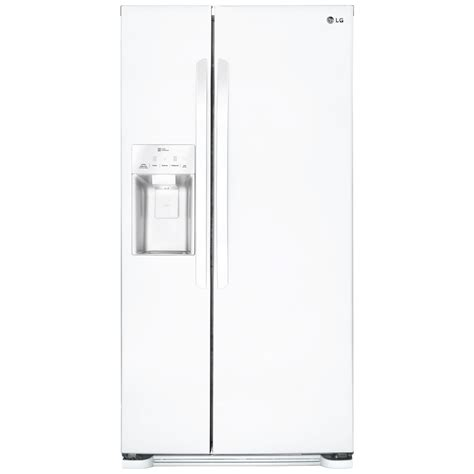 Water Dispenser Lg lg lsxs22423w 22 1 cu ft side by side refrigerator with