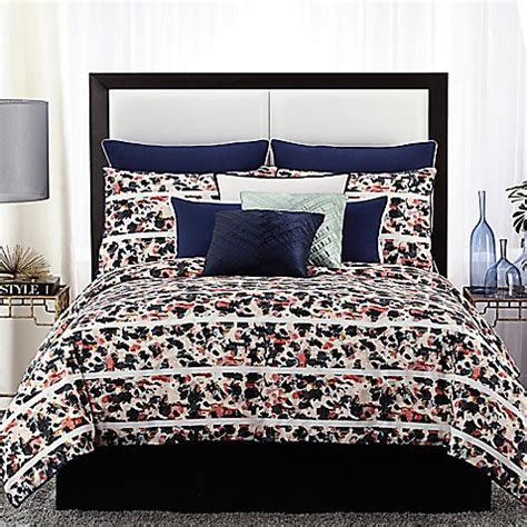 vince camuto bedding buy vince camuto messina full queen comforter set in navy