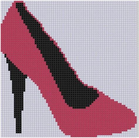 Reddish Cross Stitched Breadboard by 17 Best Ideas About High Heel Shoes On