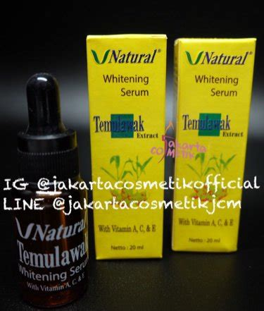 Serum The Serum Wajah Whitening Temulawak The Diskon Jual Beli Serum V Temulawak Whitening Original