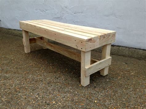 simple pallet bench squared pallet bench gas air studios