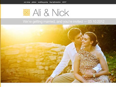 Fantastic Wedding Websites