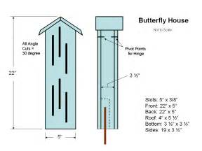 plans for building a house diy butterfly house building plans school garden