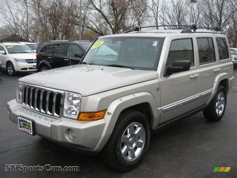 2008 Jeep Commander Limited 2008 Jeep Commander Limited 4x4 In Light Graystone Pearl