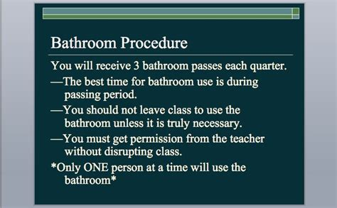 classroom bathroom procedures 207 best images about classroom procedures on pinterest