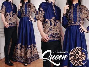 desain baju batik kapel baju couple kemeja gamis motif batik muslim model terbaru