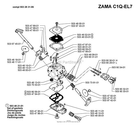husqvarna 55 rancher parts diagram husqvarna 55 rancher epa 1998 08 parts diagram for