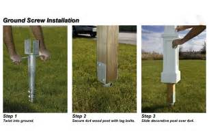Gazebo Ground Anchors by The How To Guide For Mounting Pergolas To Any Surface