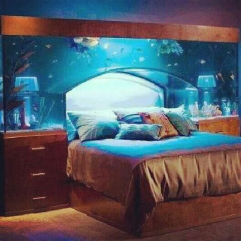 aquarium bed headboard cool fish tanks for bedrooms bedroom cool houses