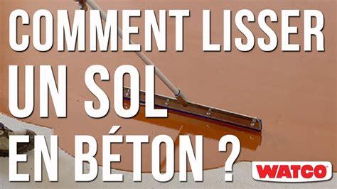 Comment Lisser Beton comment lisser un sol en b 233 ton auto lissant 233 poxy