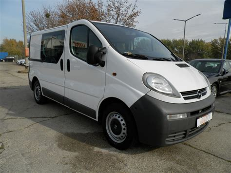 2005 Opel Vivaro Pictures Information And Specs Auto