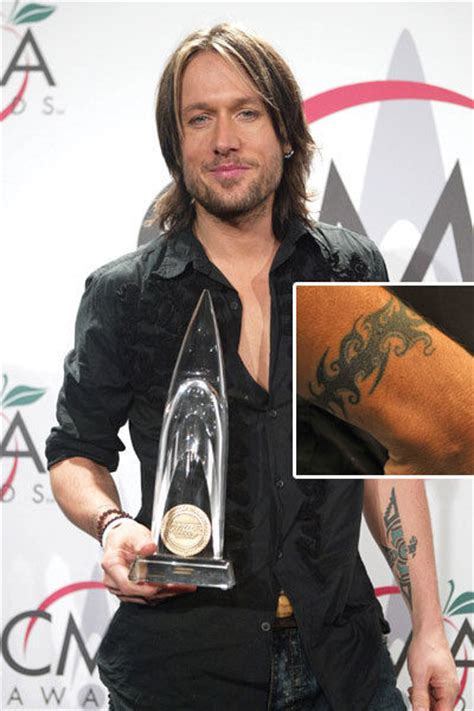 keith urban tattoos keith tattoos