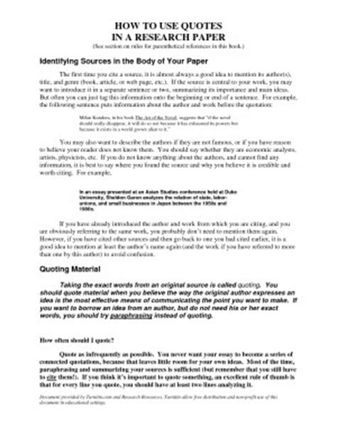 Essay Quotations by Embedding Quotes In An Essay Quotesgram