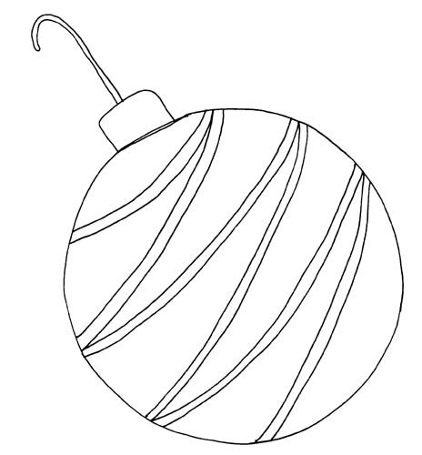 coloring page christmas bulb bulb colouring pages