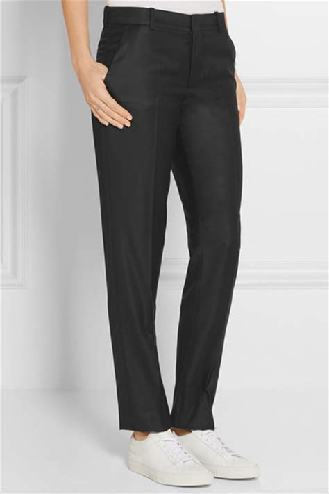 Trousers 100 At The Net A Porter Sale by Joseph Kong 100 Wool Twill Leg