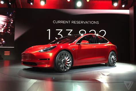 scow prices tesla model 3 announced release set for 2017 price