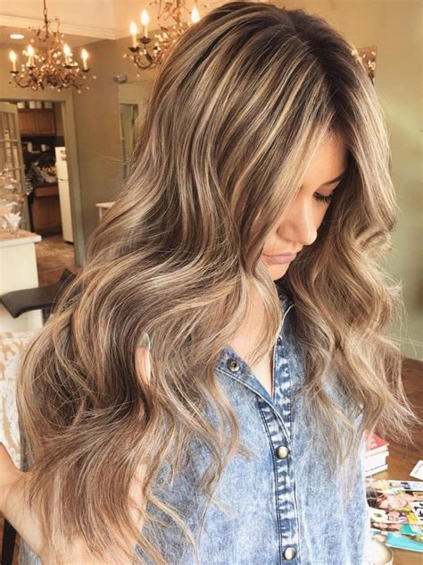 long blonde hair with dark low lights 40 fabulous light brown hair with highlights hairstyles