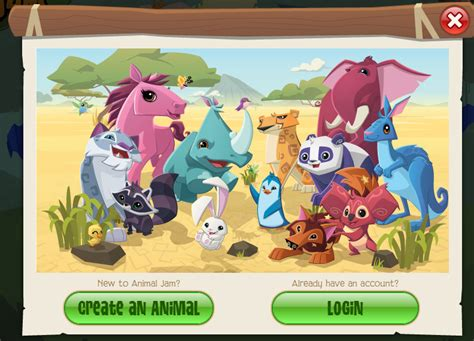 the silly animaljam animal jam homepage update