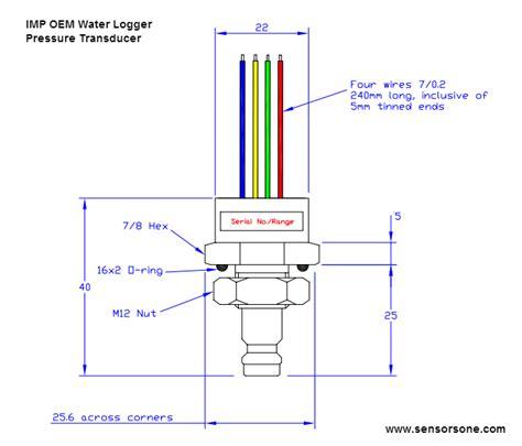 4 wire pressure transducer wiring diagram 4 wire