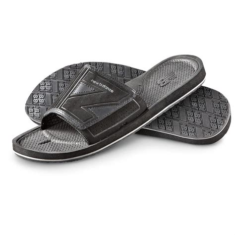 mens slide sandals unsd4q7t cheap new balance s slide sandals