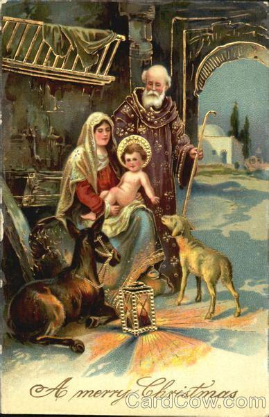 christmas nativity scene madonna child