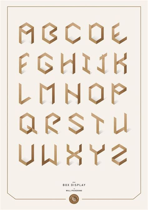 design system e font box display typeface by will pickering via behance