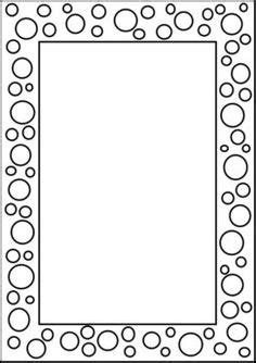 star border coloring page page borders