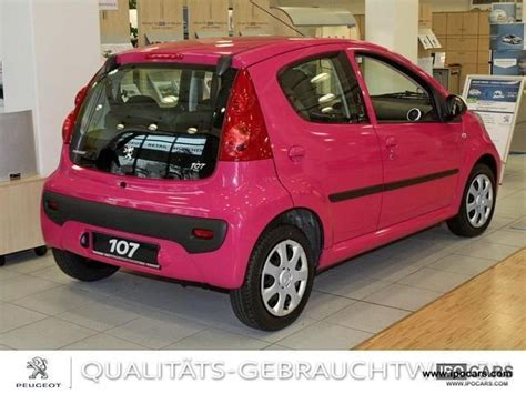 peugeot pink 2012 peugeot 107 pink pink foiled edition climate