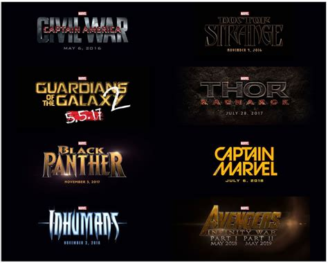 film marvel sortie le calendrier des films marvel 224 venir brick heroes