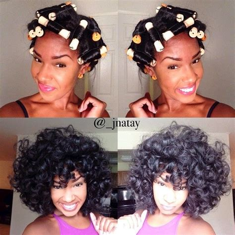 black women wash and set hairstyles wash blow dry out and curl in really large sections