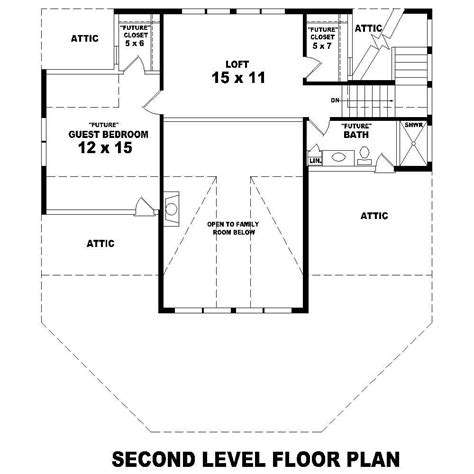 second story floor plans beachfront house plans home design su b1280 214 2210 c