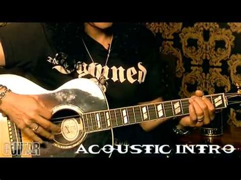 by the sword by slash solo lesson with tabs guns n rosesguns n slash interview lesson how to play by the sword youtube
