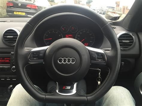 Audi A3 Lenkrad by Audi A3 Flat Bottom Steering Wheel Compatibly Audi
