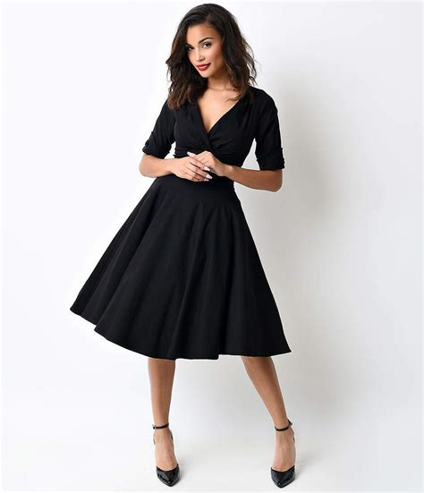 50s swing fashion vintage 50s dresses 8 classic retro styles