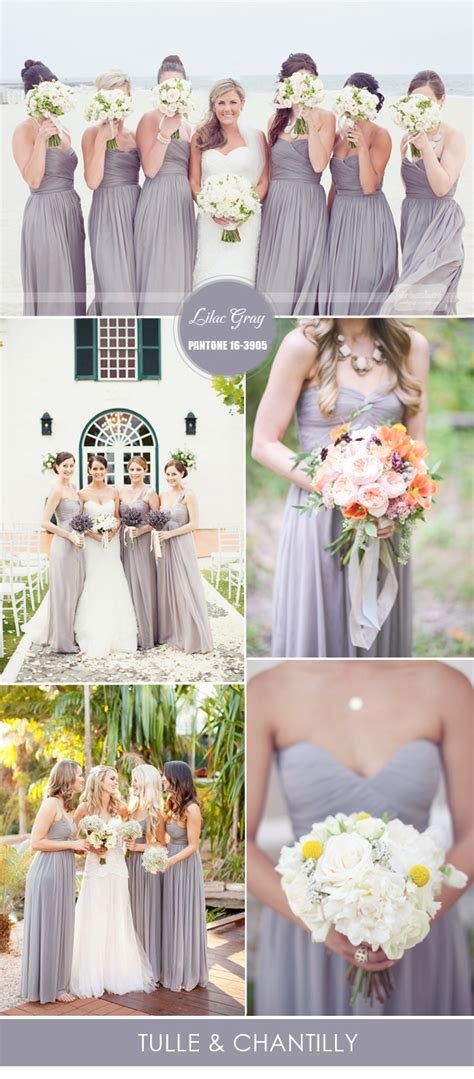 10 pantone colors for spring summer bridesmaid dresses
