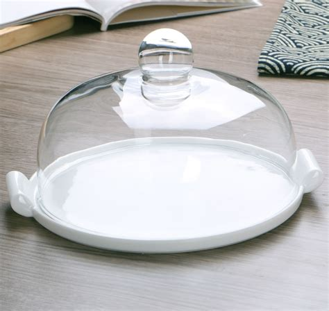 dinner dish aliexpress buy ceramic dinner plate with glass cover