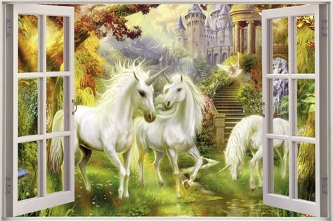windows  unicorn wallpaper wallpapersafari