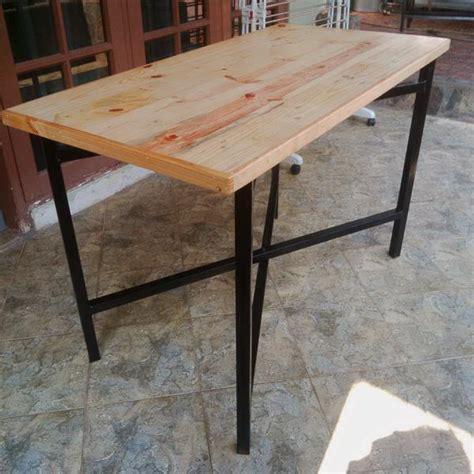 Meja Kayu Untuk Komputer jual meja makan lipat lapis jati belanda murah praktis happy vape