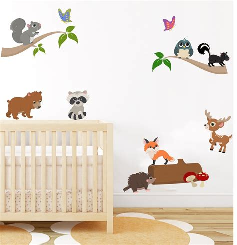 Jungle Animal Nursery Decor Jungle Wall Decor For Nursery Palmyralibrary Org