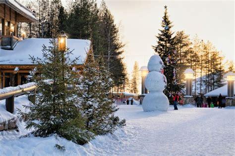 casa di babbo natale finlandia babbo natale la sua storia il suo villaggio le tradizioni