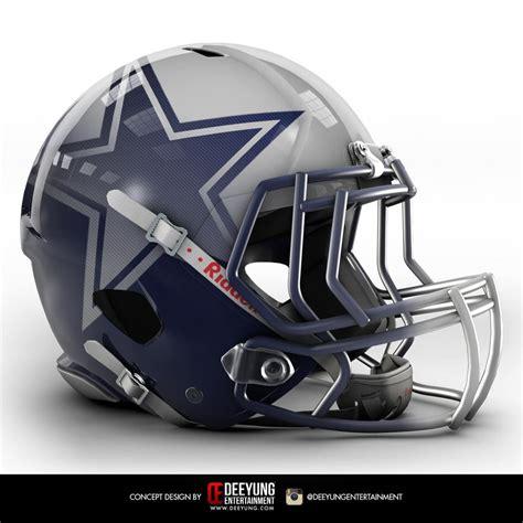 helmet design calculations design company creates eye catching cowboys concept helmet