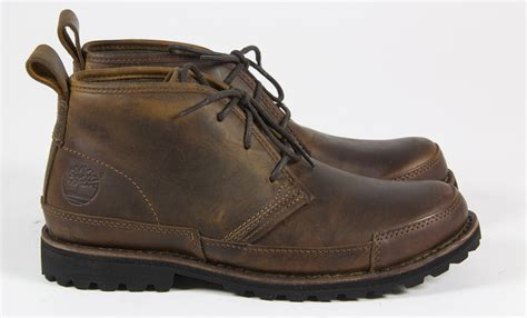 mens timberland casual leather lace winter ankle brown