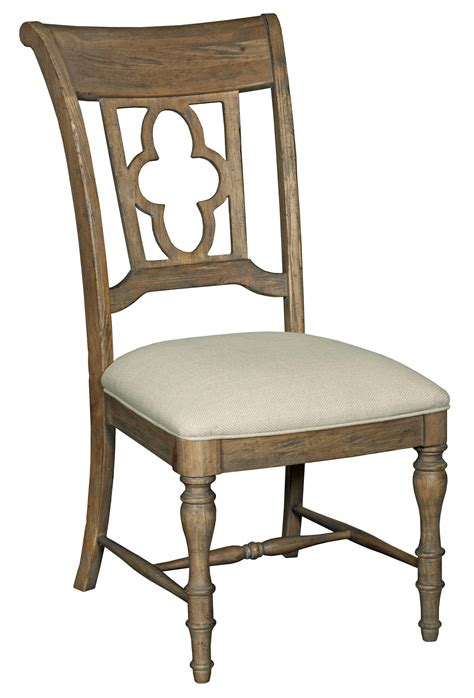 Quatrefoil Chair by Side Chair With Quatrefoil Back By Furniture