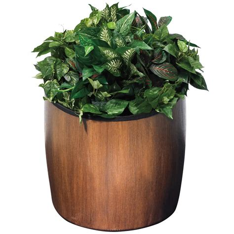 Planters Walnuts by Commercial Zone 756341 Garden Series 21 Quot X 23 Quot Walnut