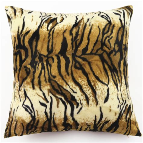 leopard print couch covers fashion pillow cases square animal print leopard zebra