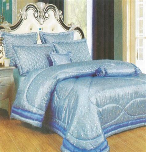 light blue comforter queen comforter set light blue 7 piece queen size comforter set