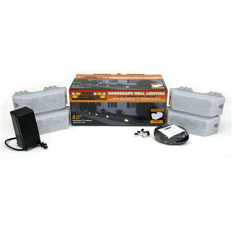 professional landscape lighting kits hardscape lighting kits how to install an undercover